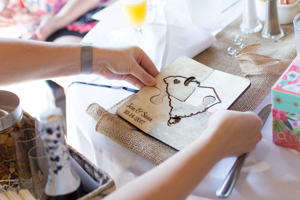 Intimate family bridal shower brunch with handmade details | Nicole Watford Photography