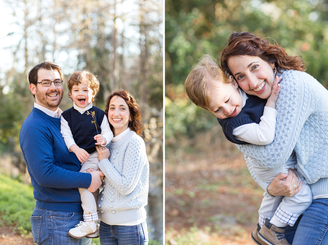 sunset golden hour family photo session at Edisto Memorial Gardens | Orangeburg, SC family photographer | Nicole Watford Photography